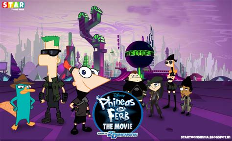 Phineas and Ferb the Movie: Across the 2nd Dimension HINDI