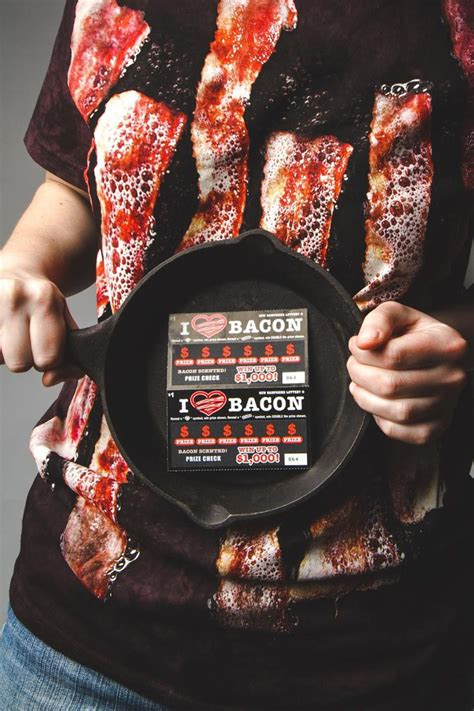 New Hampshire Lottery introduces bacon-scented scratch-off