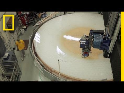 Go Inside a Telescope Mirror Factory | To a Billionth of a